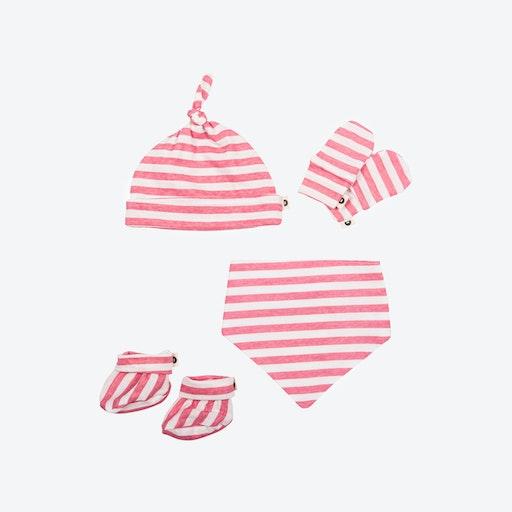 Newborn Pack - Pink Stripes