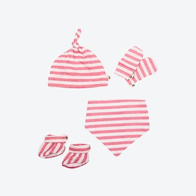 Newborn Pack - Pink Stripes