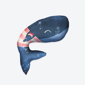 Whale Maternity Pillow
