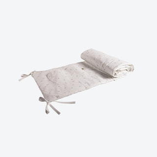 Reversable Chick Legs Pattern Cot Protector