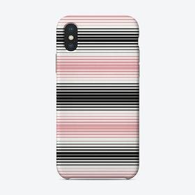 Serape Stripes In Pink Phone Case