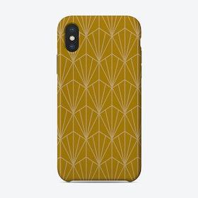 Art Deco In Gold Phone Case