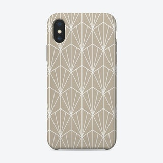 Art Deco In Tan Phone Case