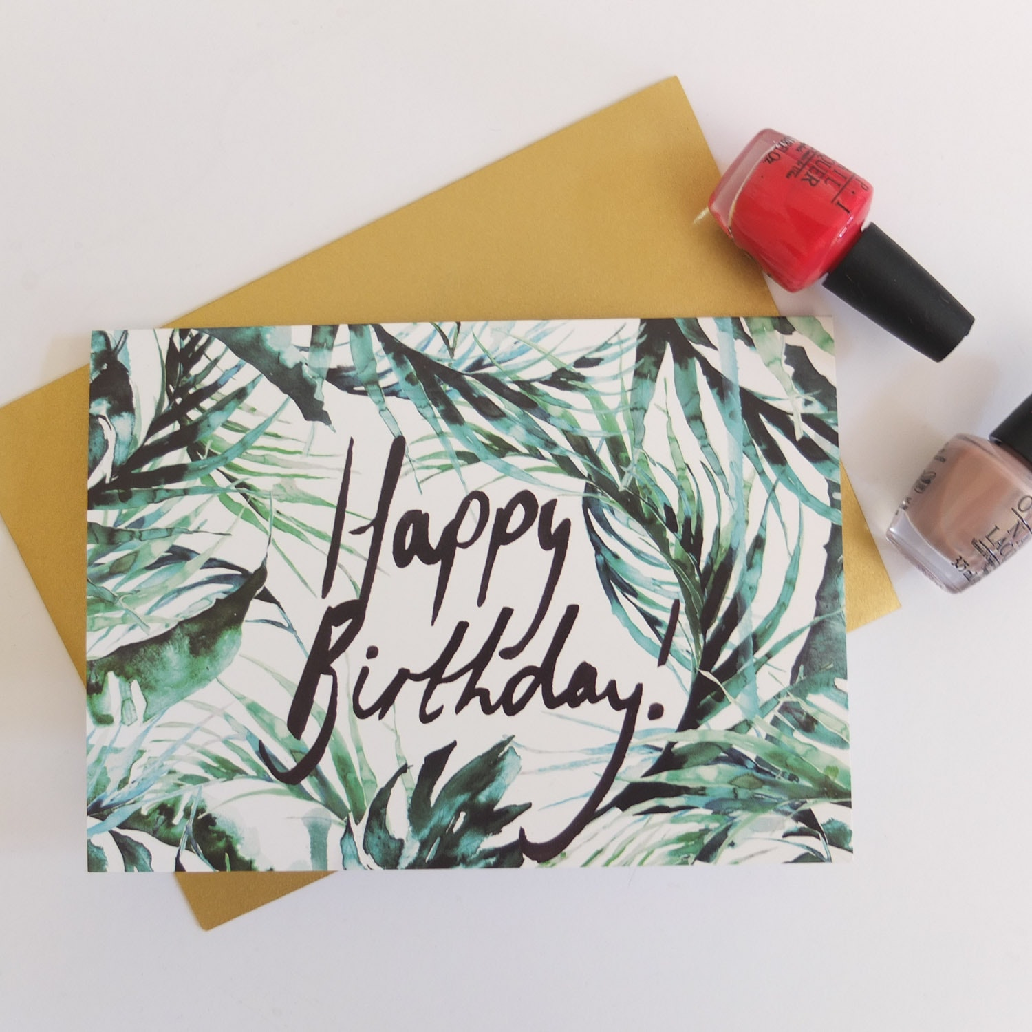 Tropical Birthday Card Set of 4 By Nikki Strange Fy – Strange Birthday Card