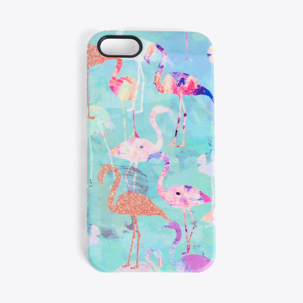 Flamingo Party Phone Cover