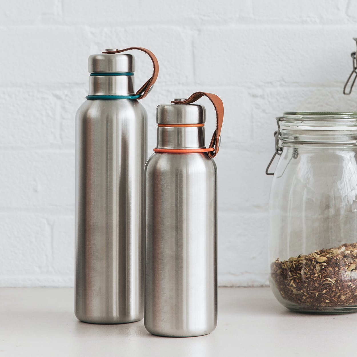 Large Insulated Water Bottle - Ocean