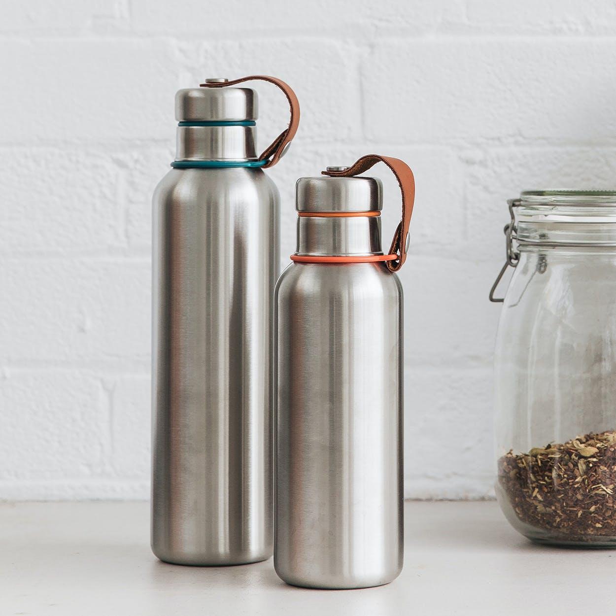 Insulated Water Bottle - Orange