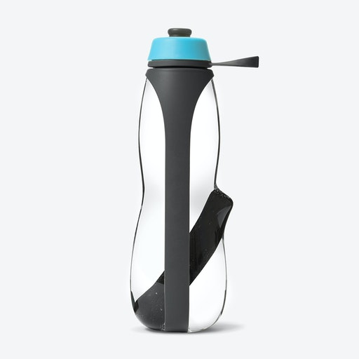 Eau Good Duo Water Bottle - Grey / Blue
