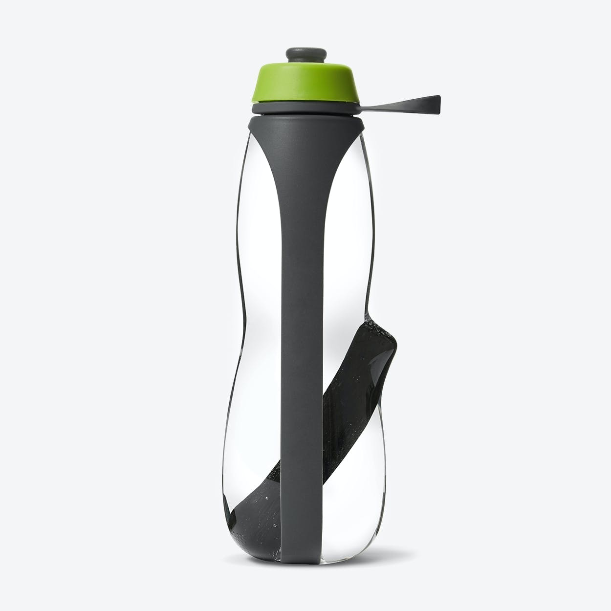 Eau Good Duo Water Bottle - Grey / Lime