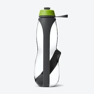 Eau Good Duo Water Bottle - Grey / Lime