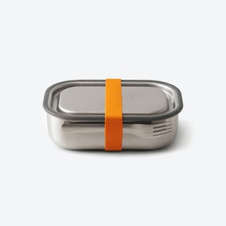 Stainless Steel Lunch Box - Orange