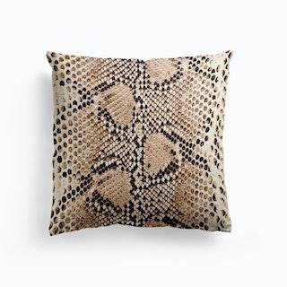 Snake Skin Cushion