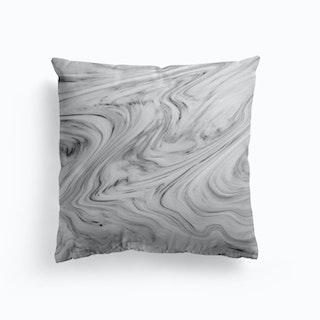 Black White Marble Cushion