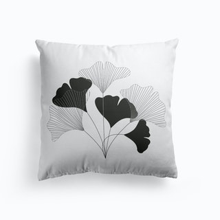 Simple Drawing Flowers Cushion