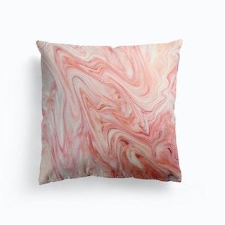 Coral Marble Cushion