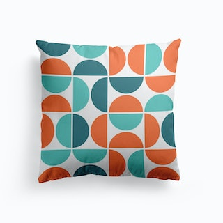 Scandinavian Geometric Cushion