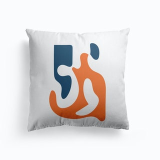Abstract Undefined Cushion