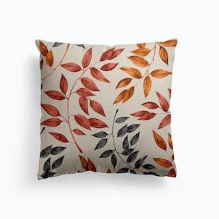 Autumn Leaves Canvas Cushion
