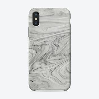 Black White Marble Phone Case