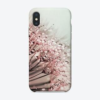 Blush Dandelion Phone Case