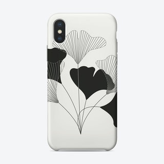 Simple Drawing Flowers Phone Case