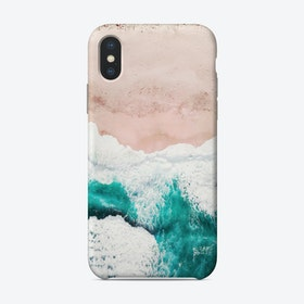 Aerial Beach Phone Case