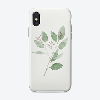 Watercolor Leaves Phone Case
