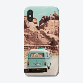 Boho Van In The Desert Phone Case