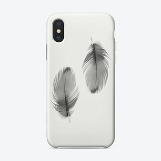Double Feathers Phone Case
