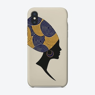 African Woman Phone Case
