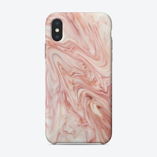 Coral Marble Phone Case
