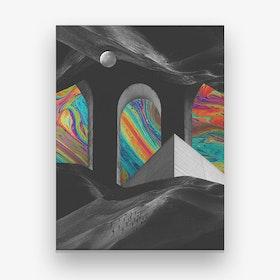 Haus Of Color Canvas Print