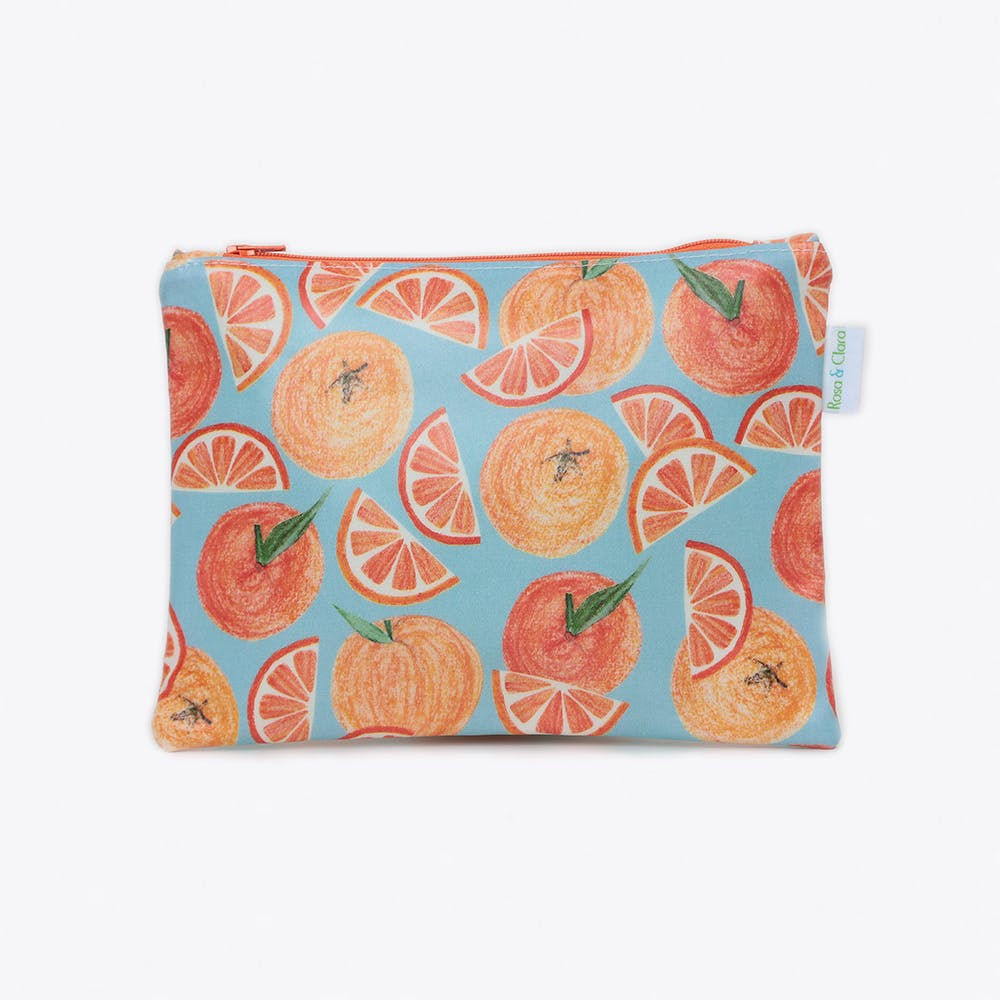 Oranges Cosmetics Bag