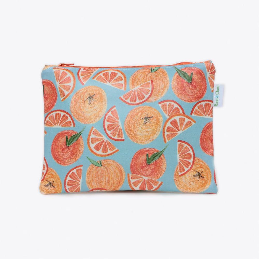 Oranges Cosmetics Bag