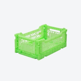 Mini in Flourescent Green
