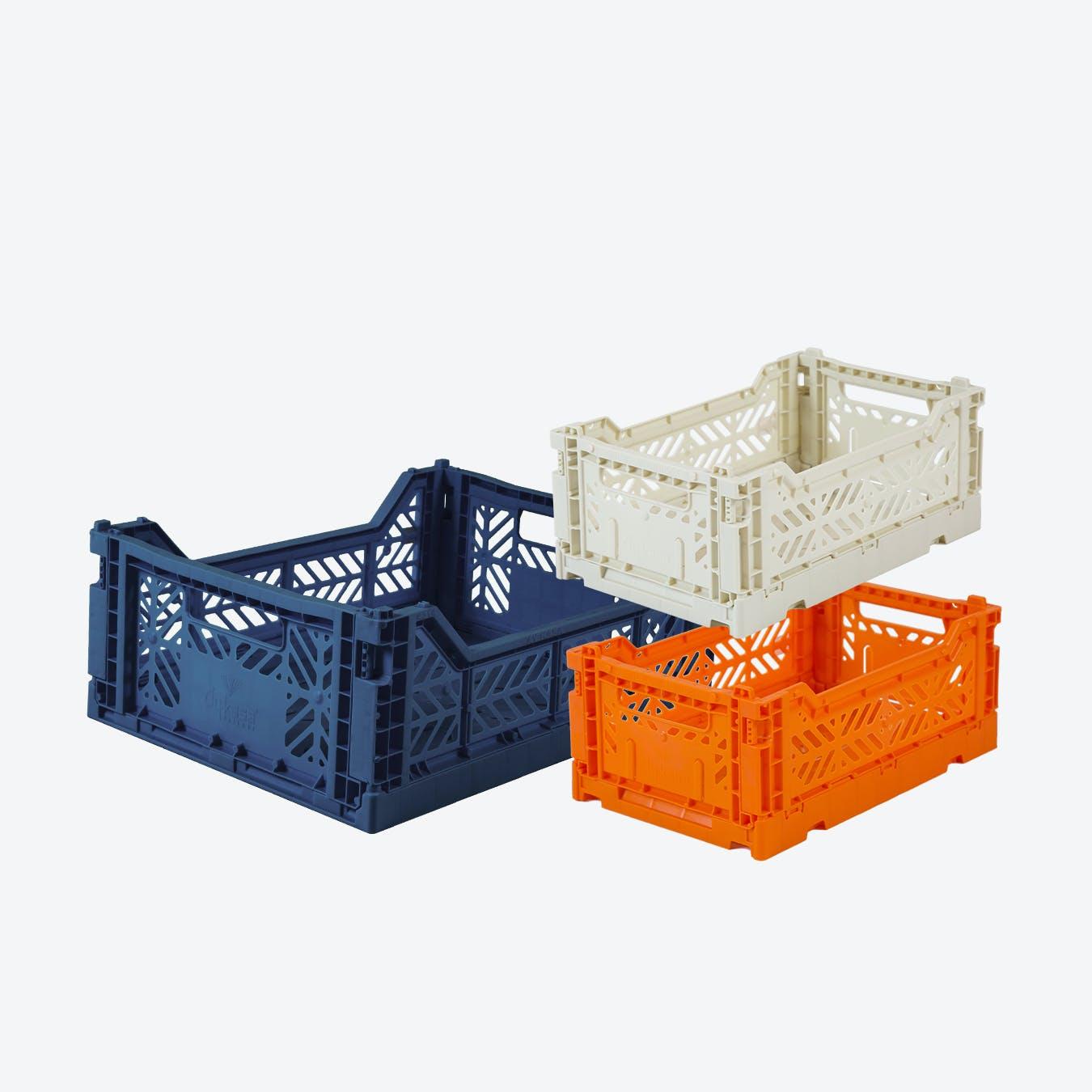 Mini in Orange & Mini in Coconut Milk & Midi in Navy