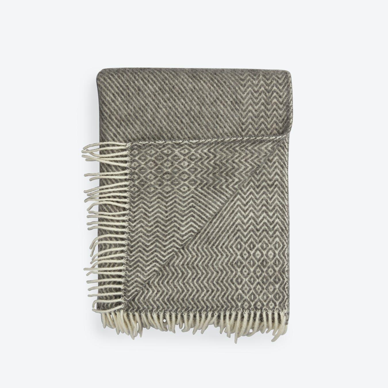 Kattefot Lambswool Rug in Grey
