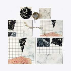 Marble Stationary Set (22 pieces)