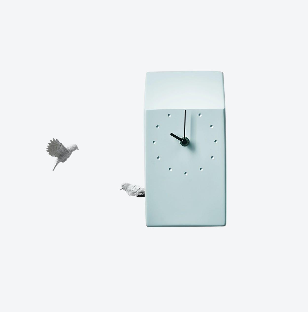 Cuckoo Clock- Home- Blue