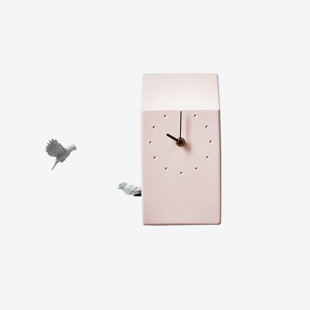 Cuckoo Clock- Home- Pink