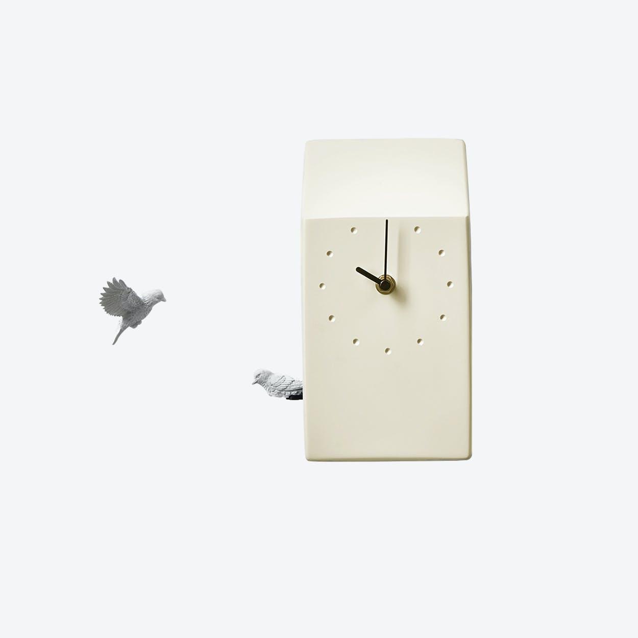 Cuckoo Clock- Home- Yellow