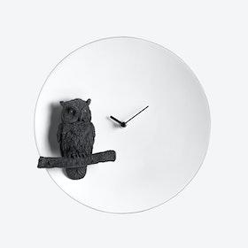 Moon Clock- Owl