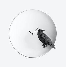 Moon Clock- Raven