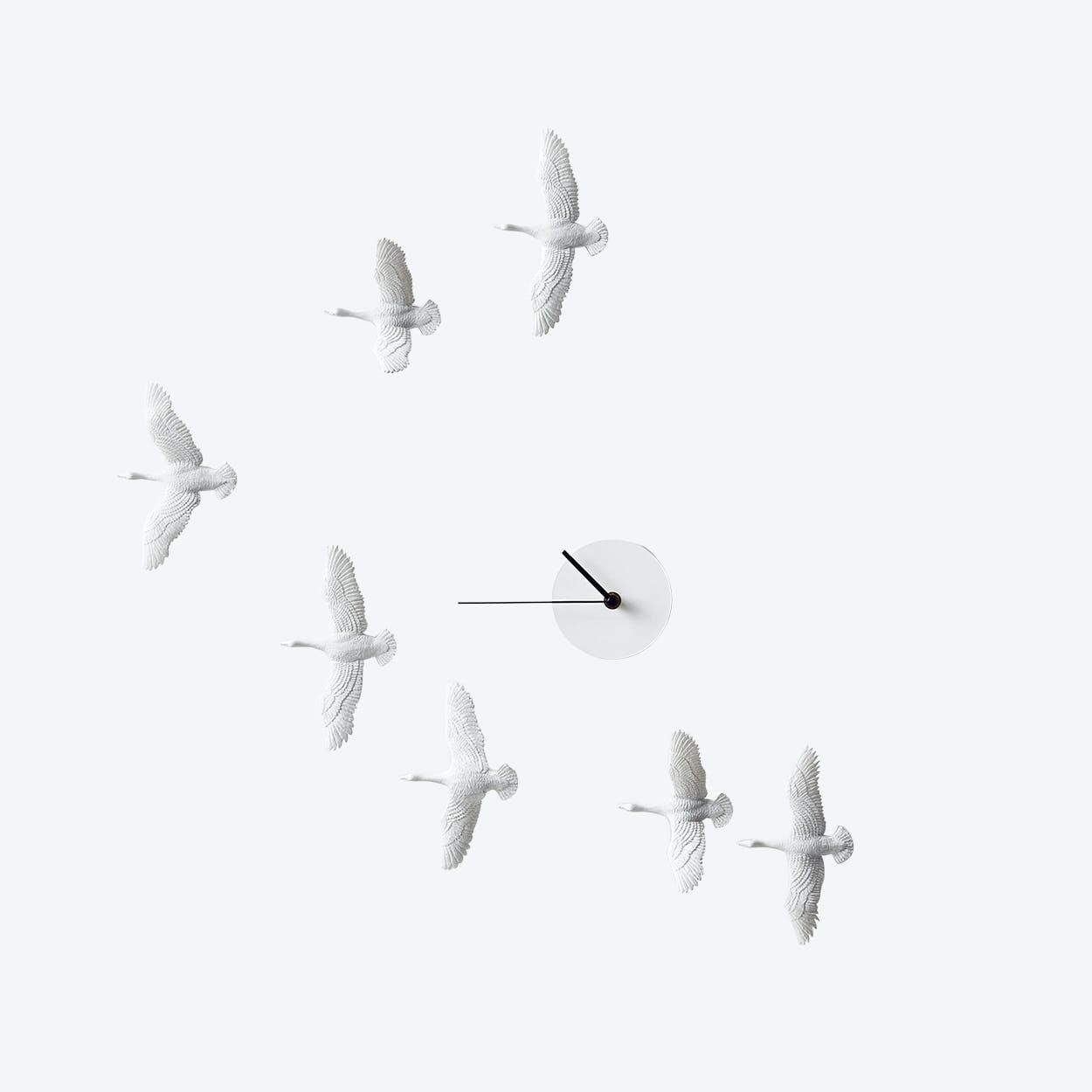 Migrantbird X Clock - V Formation