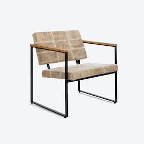 Navaho Light Brown Stone-Wash Chair