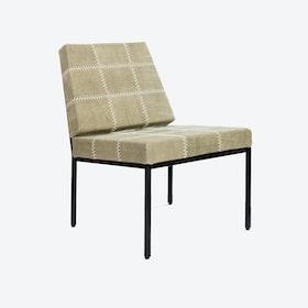 Cheyenne Khaki-Green Stone-Wash Chair