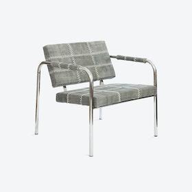 Cherokee Dark Grey Stone-Wash Chair