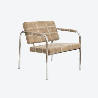 Cherokee Light Brown Stone-Wash Chair