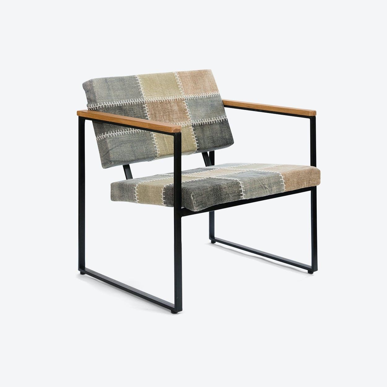 Navaho Multi-Color Stone-Wash Chair