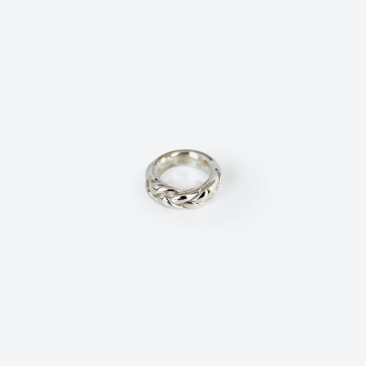 Braided Ring in Silver